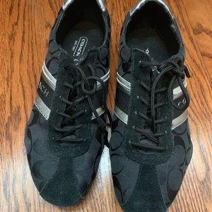 Coach Jayme sneaker size 7 black
